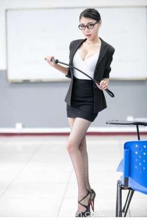黑丝网袜麻辣女教师高清图集