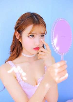 韩国清纯二次元少女唯美粉红俏皮娇美私房写真图片
