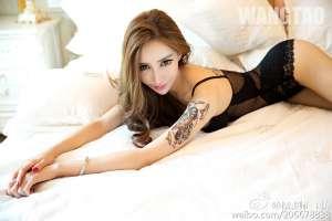 中国内地模特王瑞儿性感内衣诱惑写真