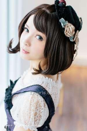 可爱萌系女生刘丽娜高清摄影图片
