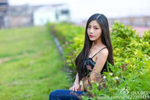 最美长发女神UU阿文微博摄影图集