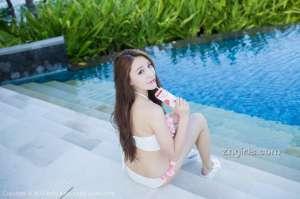 爱蜜社90后美女模特刘奕宁Lynn旅拍写真