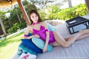 爱蜜社90后嫩模美女赵小米Kitty旅拍写真图片