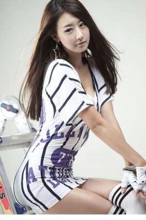 韩国美女教师朴贤善高跟长腿摄影写真