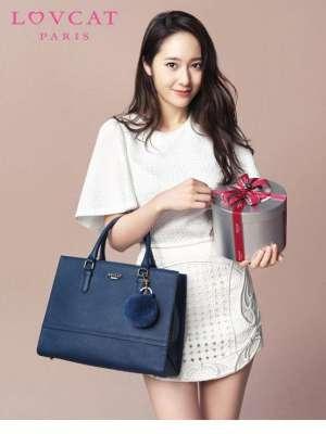 韩国明星崔雪莉甜美迷人写真照