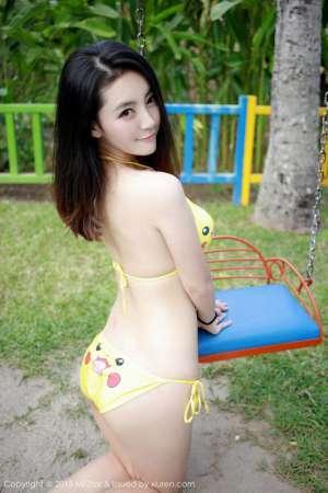 巨乳美女夏茉GIGI可爱内衣性感写真
