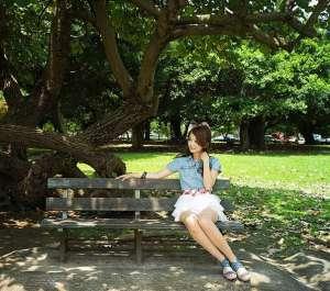 夏日清新萌妹子迷人写真图