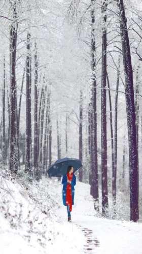 冬日清纯美女唯美写真集