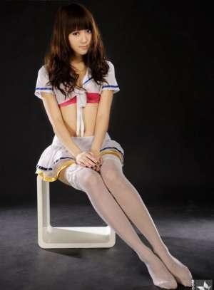 制服丝袜美女高清迷人写真照