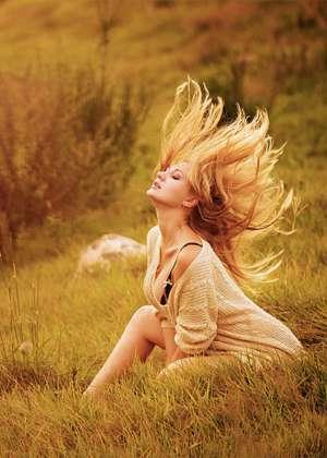 唯美欧美美女意境图片 欧美美女唯美意境梦幻治愈系写真