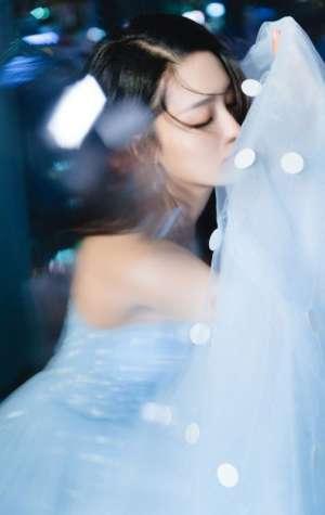 邻家气质少女李沁清纯靓丽唯美长裙写真图片