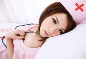 护士装美女范诗琪私房性感写真