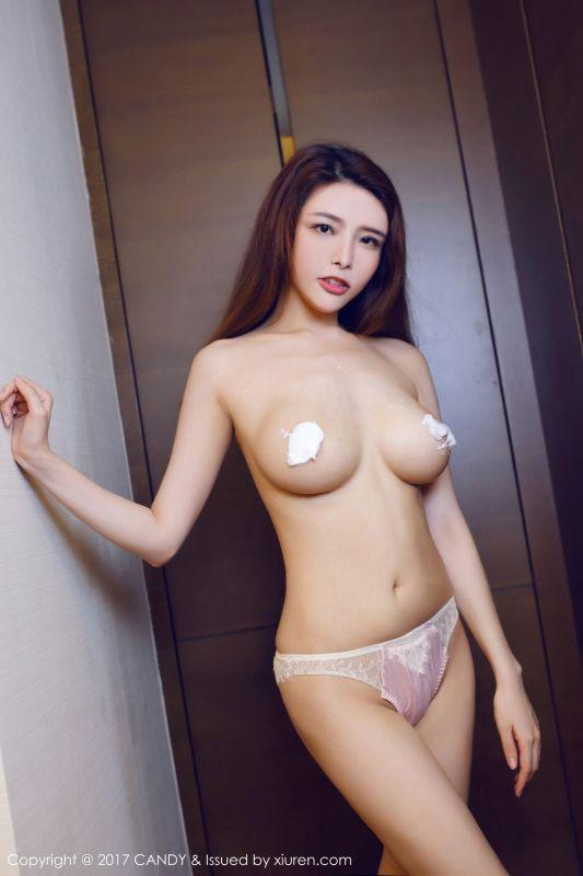 夏小秋秋秋 - 奶油涂抹和性感背心 写真图片