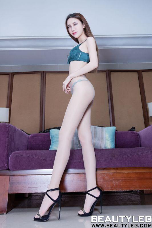 腿模Stephy - 丝袜美腿+内衣系列
