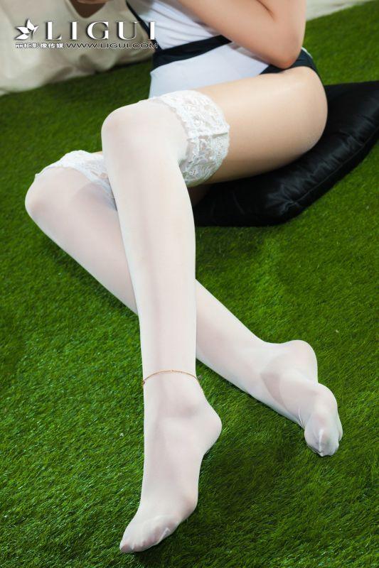 腿模小戈 - 白丝西瓜妹 写真套图