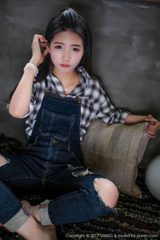 可爱的小叶子 - 童颜巨乳模特写真图片