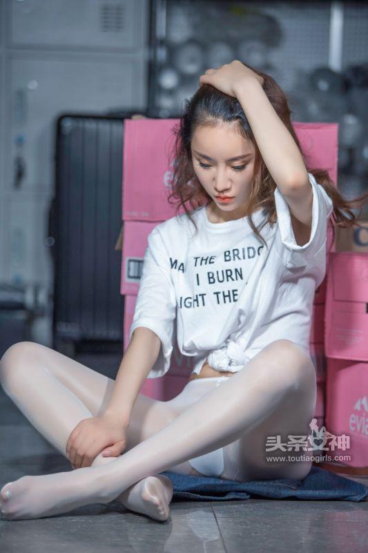 樊安妮 - 真空白丝袜