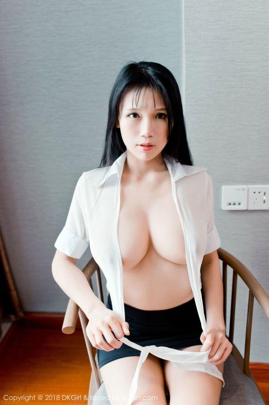 女神@李可可秘书OL写真
