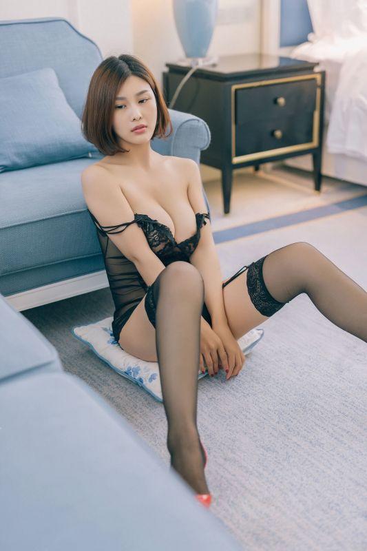 性感美女主播闫盼盼 - 夜玫瑰 写真套图
