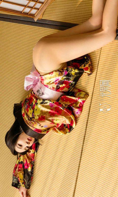 维琪 - 和服里的御姐 写真图片