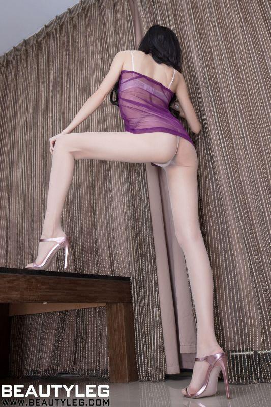 Minna 不露脸腿模 丝袜美腿诱惑