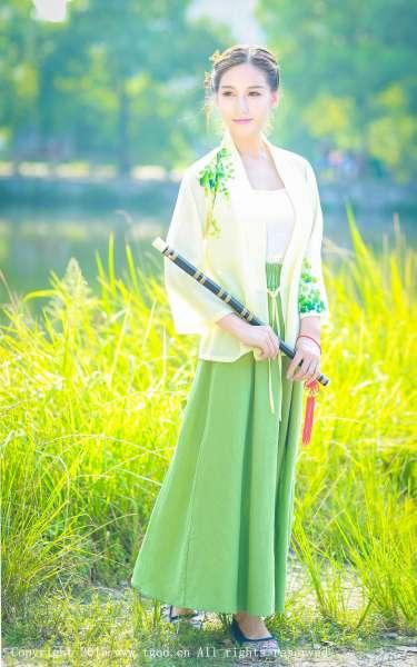 艾希ICE女神 - 清新汉服古典唯美写真