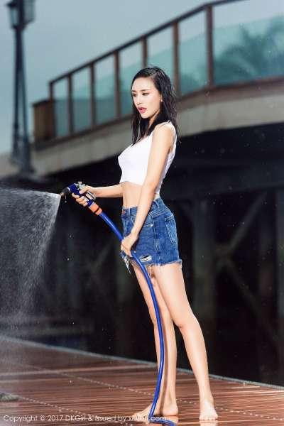 梅哥 - 清新可人,美乳美腿2