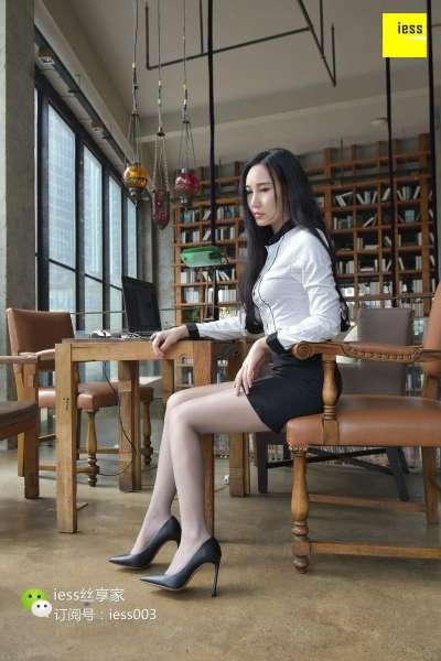 文欣 《正在办公的灰丝女OLⅡ》~