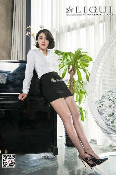 梦琪欣 美腿丝足写真
