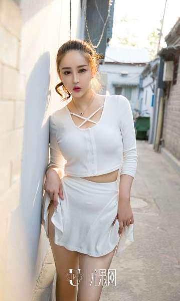 金禹熙 - 古巷新生 巨乳诱惑写真套图