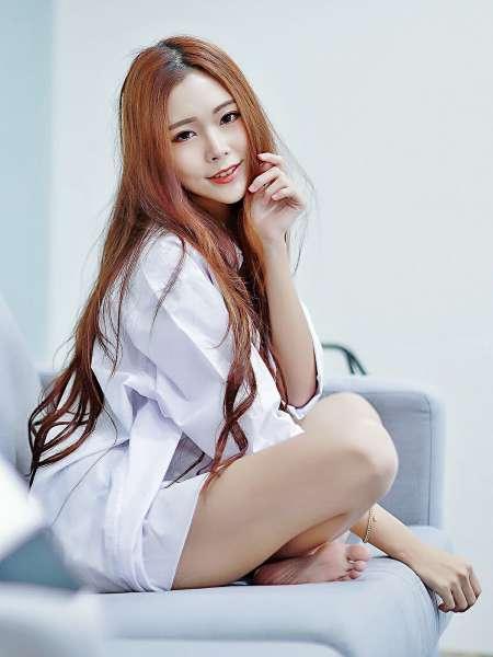 黄上晏 - 性感睡衣+白衬衫+OL系列合集写真