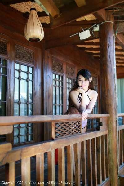 MARA醬-旗袍系列! 丽江旅拍第一套图