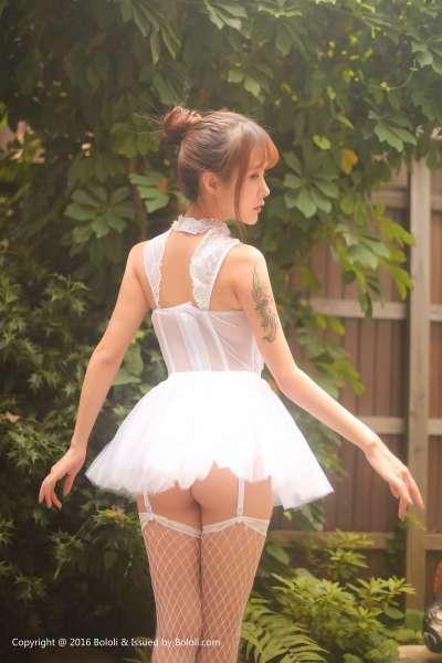 夏美酱 - 芭蕾舞少女 翘臀写真套图