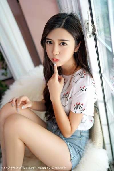 清新女神@方绮言Ayaka 第二套诱惑写真