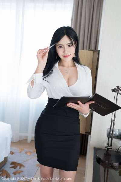 刘钰儿 - 性感OL美女写真图片