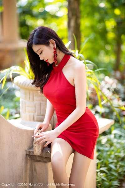高挑靓丽的红群女子[23P]