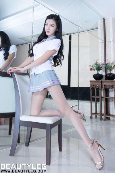 腿模Syuan - 学生装+透视装+肉丝美腿图片