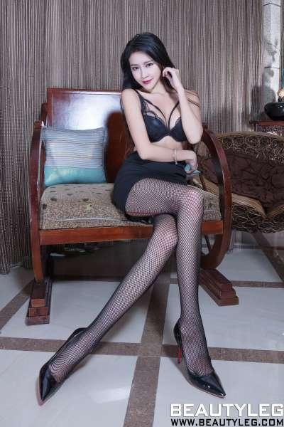 Avril 肉丝高叉+黑丝网袜美腿写真图集