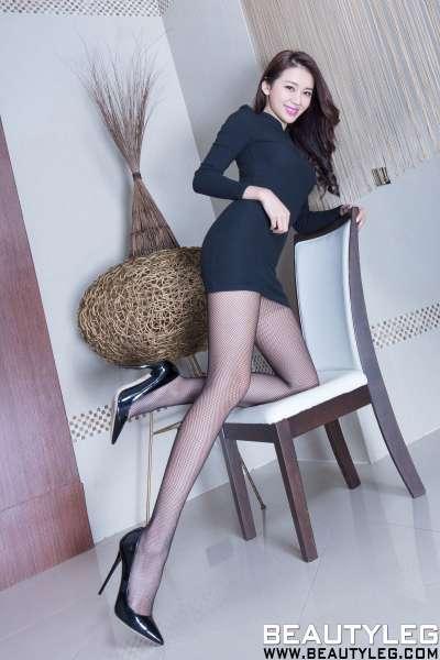 钱洪琳Jennifer 丝袜长腿诱惑写真套图