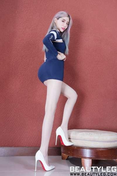 腿模Abby - 丝袜美腿性感美女写真套图