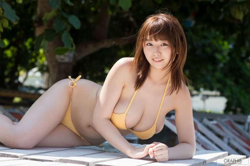 巨乳日本女优~松本菜奈実 - GRAVURE GIRL!