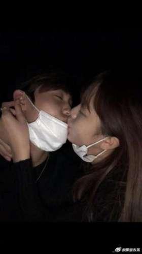 宋有彬金昭希接吻照曝光 经纪公司:目前已经分手