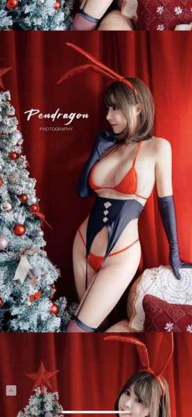 圣诞节女郎