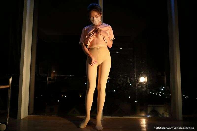 ROSI写真口罩系列丝袜美腿诱惑