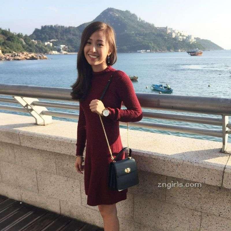 学界女神黄可盈FlaviaWong的IG私房照美照